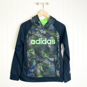 ADIDAS large Kids Boys Pullover Hooded Sweater Swe